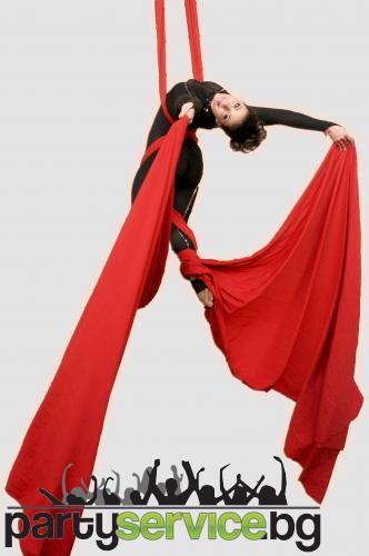 Акробатика с воали
